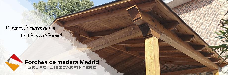 Cenadores de madera en Madrid