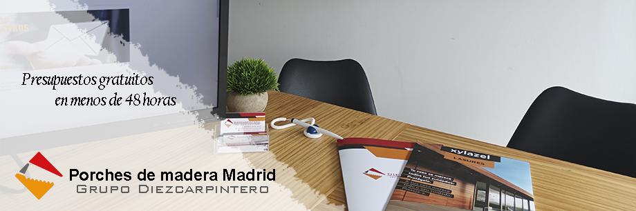 Presupuesto de madera en Madrid