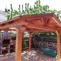 Cenador de madera Madrid